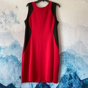 RONNIE NICOLE 16 Silhouette Hourglass Dress Red